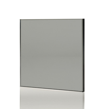 SSI True frameless, Grey tint frameless glass sample, also known as smoked glass.
